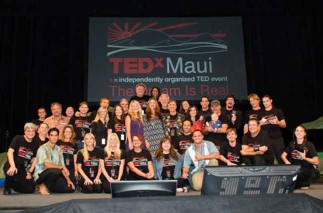 TEDxMaui 2013 Full Team