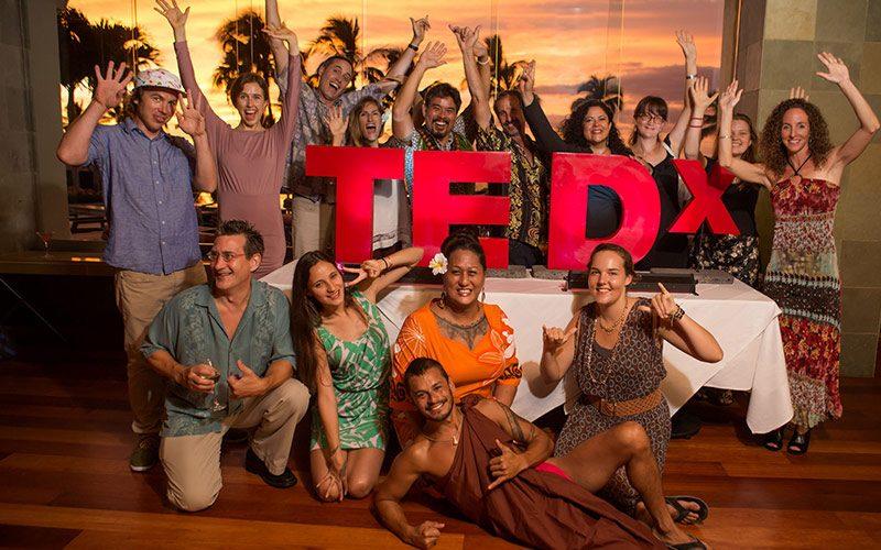 TEDxMaui 2014 Group